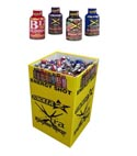 Energy Shots 2 Oz 192pc Display 4 Asst Flavors Xtra Stacker 2 See N2