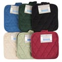 Pot Holders 2pk 8x8 6 Assorted Solid Colors