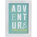 Wall Decor 14x10 Wood Frame Seek Adventure *19.99*