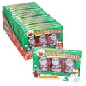 Candy Peanut Butter Santa 3pk 3oz Foilwrap/boxed In 18ct Pdq