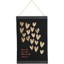 Wall Decor 17x11 Banner Canvas W/wood Love Eachother *17.49*