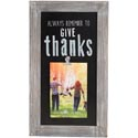 Photo Clip 14x8 Wood Give Thanks *16.99*