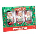 Candy Doublecrisp Kringles 3pk 3oz Foilwrap Boxed In 24pc Pdq
