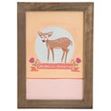 Wall Decor 14x10 Wood Frame Oh Deer *19.99*