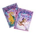 Coloring Book Princess 2 Asst W/bonus Cut Outs In Pdq