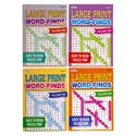 Word Find Book Lrg Print 96pg 2asst In 120pc Floor Disp #842 Made In Usa Ppd $4.95