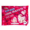 Valentine Candy Love Beads Bracelets 10ct 4 Oz Bag In Counter Display