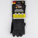 Gloves Long Cuff Neoprene Black Large Grease Money *4.98* Sell In Usa Only Ref #24103-13