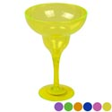 Margarita Glass Plastic 12 Oz 4 Colors In Pdq Bpa Free 53g