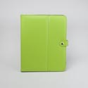 Tablet Stand Deluxe Green Apple Protective Folio Case Snap Closure
