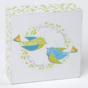 Tabletop Plaque Birds Of A Feather 4in Block Mdf (9.00) See N2