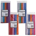 Tissue 10sheet 5 Step Shortfold Asst Color Combos Party Label