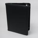 Tablet Stand Deluxe Black Protective Folio Case Elastic Strap Closure