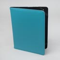 Tablet Stand Deluxe Turquoise Protective Folio Case Elastic Strap Closure