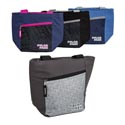 Cooler 9 Can Tote W/pocket Insulated 4 Asst Colors See N2 Double Handle #c2588