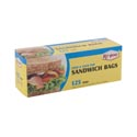 Storage Bags 125ct Sandwich Fold Top