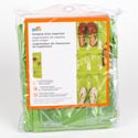 Shoe Organizer Hanging 24 Pocket Lime Non-woven 21x57 *12.99* #sft-02819