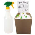 Spray Bottle 32 Oz W/adjustable Sprayer In Flr Disp Ea W/upc Made In Usa