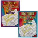 Puzzle Book Big Print Find-a-word In Pdq