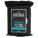 Face & Body Mens Wipes 30ct Cooling Cleansing Nobleman W/aloe And Eucalyptus