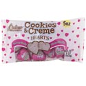 Valentine Candy Cookies & Cream Foil Wrapped Pcs In 5 Oz Bag In Pdq