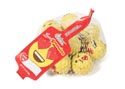 Valentine Candy Mesh Bag Emojis Love Expressions 3.4oz Milk Chocolate/creamy Center Ctr Disp