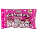 Valentine Candy White Peanut Butter Hearts 5.0 Oz