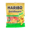 Gummi Candy Haribo Sour Gold Bears 3.5oz Peg Bag