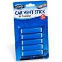 Air Freshener New Car Scent Car Vent Stick 5pk Carded