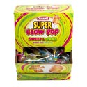 Lollipop Charms Blow Pop Sweet/ Sour Cntr Disp 4/100 Ct 1.12 Oz