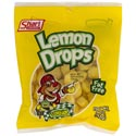 Hard Candy Lemon Drops 5 Oz Peg Bag #36010