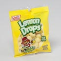 Hard Candy Lemon Drops 5 Oz Peg Bag