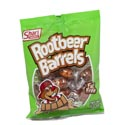 Hard Candy Root Beer Barrels 4.5 Oz Peg Bag