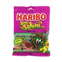 Gummi Candy Haribo Sour S\'ghetti 4 Oz Peg Bag
