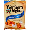 Werther\'s Original Chewy Caramel 2.4 Oz Peg Bag