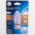 Light Bulb Led 3.2w = 40w Ge Reveal Decorative *6.99* Med Base Carded