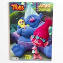 Coloring Book Trolls 96 Pgs In 24 Pc Display Box