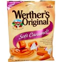 Werther\'s Original Soft Caramel 2.2 Oz Peg Bag