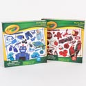 Puzzle 24pc Crayola Red & Blue Asst World Of Colors Pdq Ref #39450-pdq1