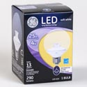 Light Bulb Led G25 4w = 25w Ge Soft Whte Med Base *4.99* Boxed Clear Finish