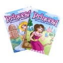 Coloring Book Princess Bilingual In Pdq W/bonus Cut Out