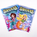 Color/activity Book Bilingual Mermaids In Pdq 2 Assorted