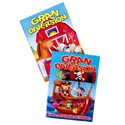 Color/activity Book Spanish Grand Diversion 2 Assorted In 24pc Pdq
