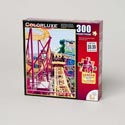 Puzzle 300pc Roller Coaster Ride Colorluxe Boxed *9.99*