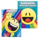 Coloring Book Bilingual Emoji Fun 2 Assorted In Pdq