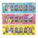 Easter Candy Bunnyette Dblcrisp 4ast Foilwrap 6pc 1.5oz Box/pdq