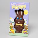 Easter Candy Choco Bunny Lil' Crispy 2asst 2.5oz/boxed/in Pdq