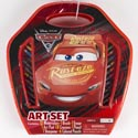 Art Set Case Disney Cars 3 Large 41pc Set *14.99* Ref #as40635