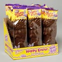 Easter Candy Solid 6oz Milk Choc Rabbit In Prntd Polybag 24pc Pdq