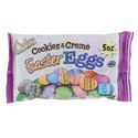 Easter Candy Cookies & Creme Eggs 5 Oz Bags In Pdq